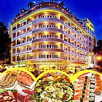 Buffet Nướng Rooftop Sân Thượng 60-70 Món Hải Sản Phong...