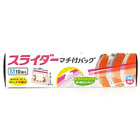 Túi zip đựng thực phẩm Daiwa size M đáy rộng (10 cái)