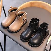 Giày bé gái giày boot cho bé siêu đẹp siêu êm khóa dọc Hàn Quốc vừa đẹp vừa êm chân dễ phối đồ