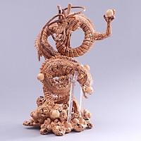 Mô hình Rồng thiêng Shenron 7 viên ngọc rồng - Dragon Ball 21cm màu nâu