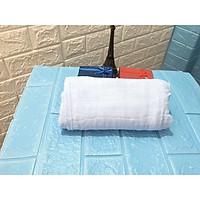 Khăn tắm aden túi lưới cho bé