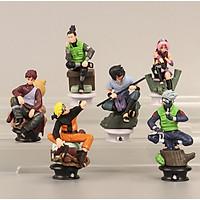 Bộ 6 mô hình nhân vật trong  Naruto