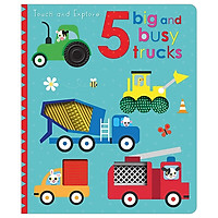 Touch And Explore 5 Big And Busy Trucks