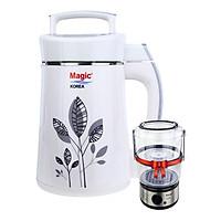 Máy Làm Sữa Đậu Nành, Xay Đa Năng Magic Korea A68 + Tặng Máy Hấp Thực Phẩm Đa Năng 02 Tầng Magic Korea A64 - Hàng Chính Hãng