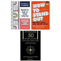 Combo Sách Kinh Tế Hay: Nguyên Lý Quản Trị Chuỗi Cung Ứng + Nổi Bật Cũng Cần Chiến Thuật + 50 Mô Hình Kinh Điển Cho Tư Duy Chiến Lược (Bộ 3 Cuốn Quản Trị, Lãnh Đạo Và Kỹ Năng Kinh Doanh Đỉnh Cao)