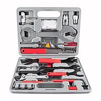 Bộ dụng cụ sửa chữa xe đạp đa chức năng Bộ dụng cụ sửa chữa xe đạp cờ lê 21/44 chiếc có hộp bảo quản cho xe đạp leo núi