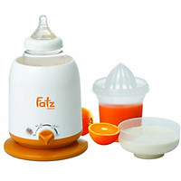 Máy hâm sữa 4 chức năng Fatzbaby FB3002SL - Tặng kèm áo hút sữa rãnh tay và 05 túi trữ sữa