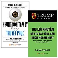 Combo Những Đòn Tâm Lý Trong Thuyết Phục + 100 Lời Khuyên Đầu Tư Bất Động Sản Khôn Ngoan Nhất (Bộ 2 Cuốn)