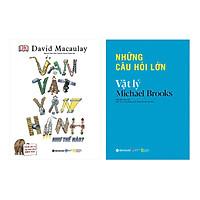 Combo Vạn Vật Vận Hành Như Thế Nào + Những Câu Hỏi Lớn - Vật Lý (2 cuốn)