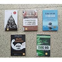 Combo 5 Cuốn Sách : + Kỹ Năng Để Cân Bằng Giữa Công Việc Và Cuộc Sống + Đừng Bao Giờ Từ Bỏ Giấc Mơ + Sức Mạnh Của Động Lực - Nghệ Thuật Vượt Lên Những Cám Dỗ Của Cuộc Sống + 10 Phút Tĩnh Tâm 71 Thói Quen Cân Bằng Cuộc Sống Hiện Đại + Chấp Nhận Cuộc Đời QP