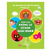 Sách Tương Tác - My Big Book Of The Five Senses - Cuốn Sách Khổng Lồ Về Năm Giác Quan