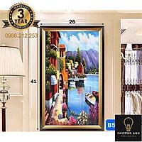 Đèn  Soi Tranh Gồm 3 Chế Độ Ánh Sáng - hình chữ nhật 3d Trang Trí Phòng Khách, Phòng Ăn, Phòng Ngủ phong cách hiện đại