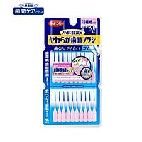 Set bàn chải nha khoa vệ sinh kẽ răng cao su mềm Kobayashi hình chữ I - Made in Japan