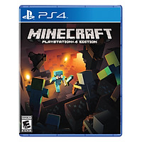 Đĩa Game PlayStation PS4 Sony Minecraft Hệ US - Hàng Chính Hãng