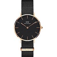 Đồng hồ nữ DANIEL WELLINGTON PETITE CORNWALL ROSE BLACK 32MM DW00100215