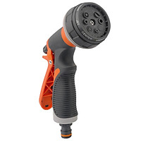Garden Hose Nozzle Spray Nozzle Gun with 8 Adjustable Watering Patterns Anti-Slip High Pressure Water Nozzle for