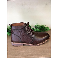 Giày Boot Nam Da Bò Màu Nâu-BO2020