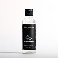 Dầu dừa tinh khiết nguyên chất herbario 110ml chiết xuất ép lạnh tự nhiên rất giàu dưỡng chất và vitamin tốt cho da và tóc môi