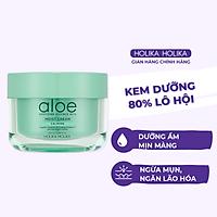 Kem Dưỡng Da Holika Holika soothing Essence 80% Moist Cream Chiết Xuất Lô Hội 100ml