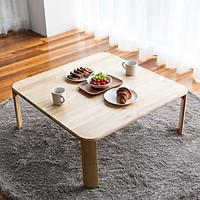 Bàn Trà Sofa C Table Nội Thất Kiểu Hàn - Gỗ Tự Nhiên (Size L)