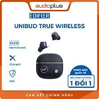 EDIFIER UNIBUD Tai nghe bluetooth có màn hình OLED - Thiết kế cổ điển - Chất âm ấn tượng - Hỗ trợ AAC, AptX - Bản quốc tế - Hàng chính hãng