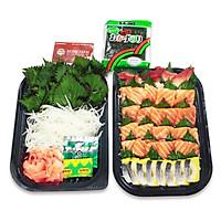 [Chỉ giao HN] - Set sashimi 299 - Vàng ( 1 hộp)