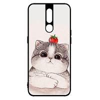 Ốp lưng dành cho điện thoại Oppo F11 Pro Mèo Và Cà - Hàng Chính Hãng