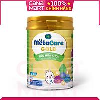 [Lon 900g] Sữa bột Nutricare MetaCare Gold 2+, giúp bé tiêu hóa khỏe, tăng hấp thu, tăng cân, phát triển chiều cao