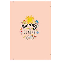 Sổ Tay Notebook Minh Long - Spring Is Coming