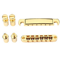 1 Set Of Electric Guitar Accessories For Electric Guitar TuneOMatic Roller Part Golden