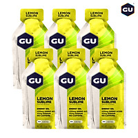 GU Energy Gel Năng Lượng Leo Núi Lemon Sublime - Hương Chanh Tuyệt Hảo - Loại 6 Gói