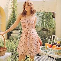Đầm ống hồng hoa Diria Dress Gem Clothing SP001097