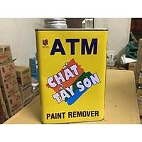 Tẩy sơn ATM trên mọi chất liệu (niềng xe, sơn xe, sơn tường, sơn cửa, tường xi măng)
