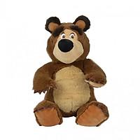 Đồ Chơi Gấu Bông Hạt Đậu Dành Cho Bé MASHA AND THE BEAR Masha Bean Bag Bear 109301034 - Đồ Chơi Simba Chính Hãng (1 Con/ 20 cm)
