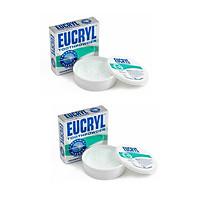 BỘ 2 hộp bột tẩy trắng răng EUCRYL 50g