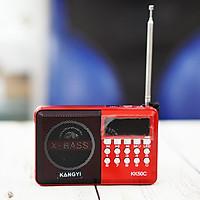 Loa nghe nhạc KangYi KK50C chạy USB, Thẻ nhớ tích hợp Đài FM, Đèn LED chiếu sáng ban đêm - Hàng Nhập Khẩu