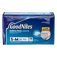 Tã Quần Ban Đêm Huggies Goodnites SM-XXXL14 (14 Miếng)