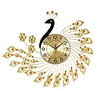 Đồng hồ trang trí tường con công NH9397