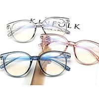 Unisex Retro Frame Fashion Glasses Flat Mirror All Matching Glasses Frame