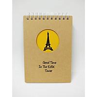 Sổ Lò Xo Bìa Cứng Eiffel - A6