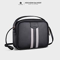 Túi đeo chéo nữ YUUMY YN102 kiểu dáng dễ thương có quai xách phù hợp đi học, đi chơi, dạo phố, da tổng hợp cao cấp