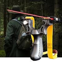 Laser Light Aiming Resin 98K Fast Pressure Slingshot Laser Precision Hunting
