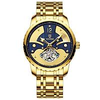 Đồng hồ Nam Thời trang TEVISE bằng thép không gỉ Dây đeo bằng kim loại Vỏ đồng hồ đeo tay chống nước T856B - Bạc