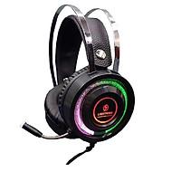 Tai nghe Lightning V6S - Led RGB - Jack cắm 3.5mm (Màu Đen) - Hàng Chính Hãng