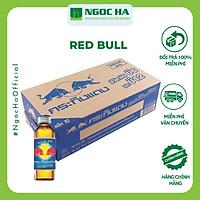 (Thùng) Nước tăng lực Redbull chai thủy tinh 150ml_Bổ sung vitamin Tăng cường sức khỏe_Tập trung tỉnh táo