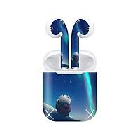 Miếng dán skin chống bẩn cho tai nghe AirPods in hình Heo con dễ thương - HEO2k19 - 149 (bản không dây 1 và 2)