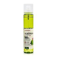Xịt Khoáng Chiết Xuất Lô Hội Aloe Vera Soothing Mist 98% Organia (110ml)