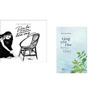 Combo 2 cuốn sách: Đàn bà đo hạnh phúc trong quanh quẩn đàn ông + Lặng yên cho nước chảy
