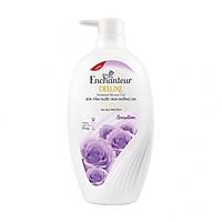 Sữa tắm nước hoa dưỡng da Enchanteur Sensation gợi cảm tinh tế mịn màng quyến rũ (650gr)
