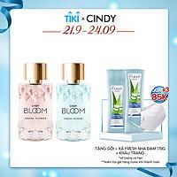 Combo Nước hoa nữ Cindy Bloom Aroma Flower ngọt ngào nữ tính + Fresh Ocean năng động trẻ trung 50ml/chai chính hãng